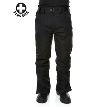 XTM Adult Male Snow Trousers Glide Ii Plus Size Pant Black