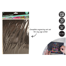 10 Per Pack Scratchpaper With One Pole Set