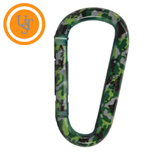 UST Snappy Carabiner - Green Camo