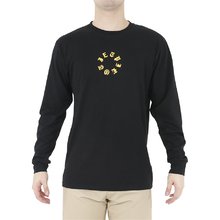 JetPilot Wired Mens Long Sleeve Tee - Black/Yellow