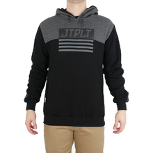 JetPilot Matrix Mens Hoodie - Black/Charcoal