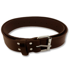 Brown Leather Work Belt