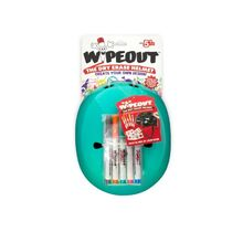 Wipeout Dry Erase Helmet, Teal Blue, Youth (5+)