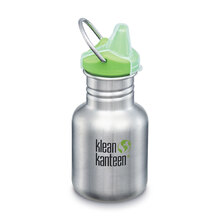 Klean Kanteen 12oz Classic Kid Sippy Cap Brushed Stainless