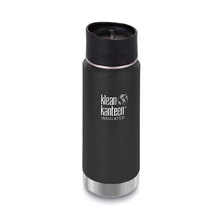 Klean Kanteen 16oz Wide Vacuum Insulated Cafe Cap/Shale Black