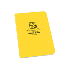 Rite in the Rain Bound Soft Cover Field Flex Book Universal - Yellow - 3.125 x 5