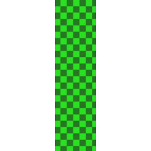 "Fruity Griptape (9""x33"") Green/Lime Checkers Single Sheet"