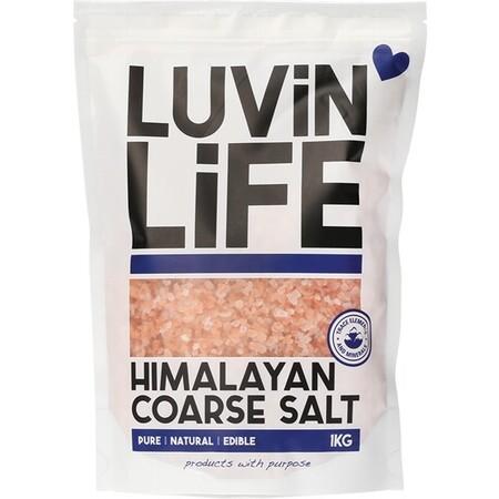 Luvin Life Himalayan Salt Coarse 1kg