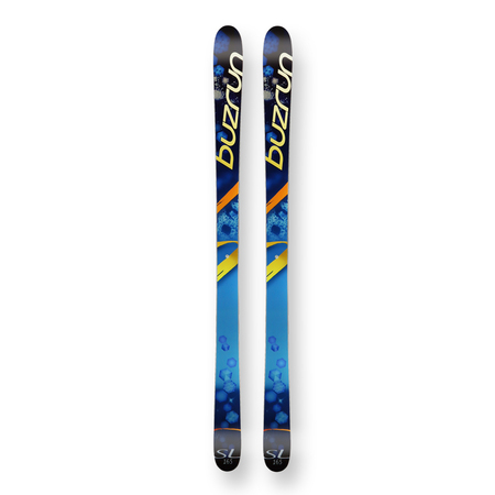 Buzrun Snow Skis Hex Camber Sidewall 165cm